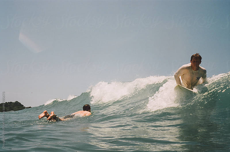 Catching a wave by Douglas Robichaud for Stocksy United
