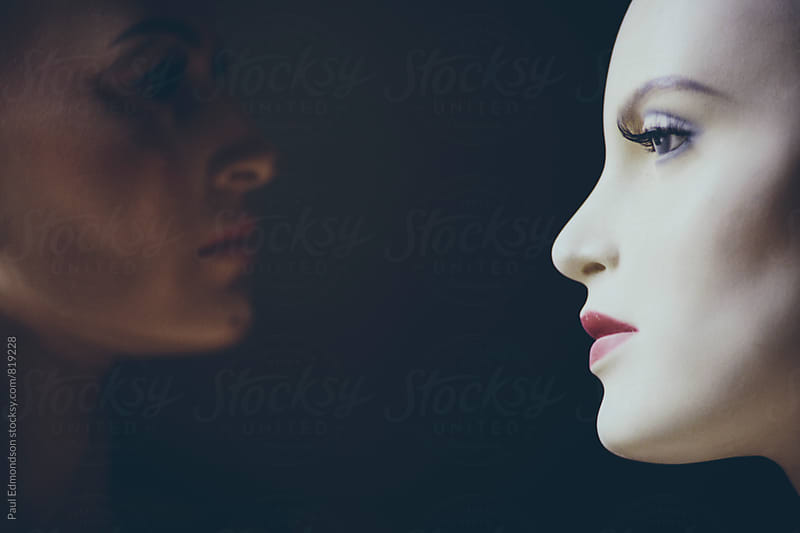 Close up mannequins by Paul Edmondson for Stocksy United