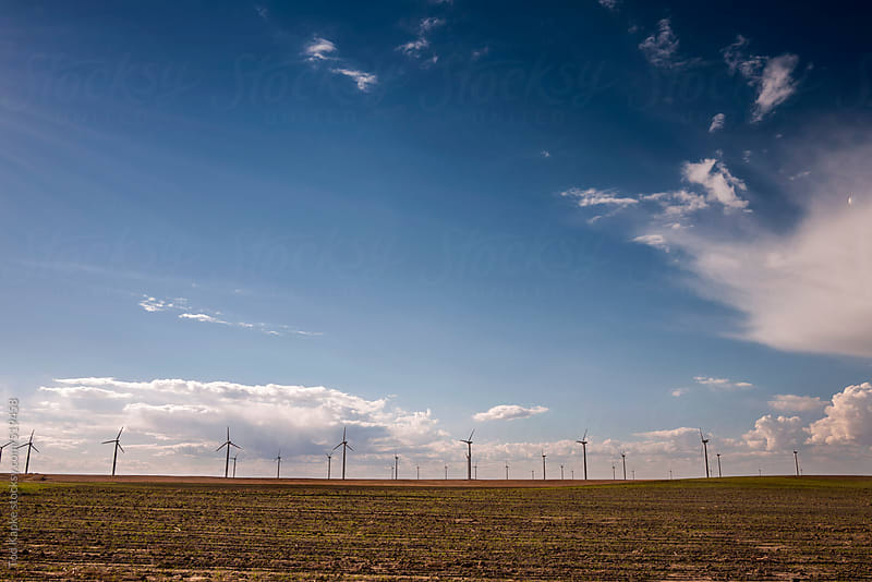 wind power by Tod Kapke for Stocksy United