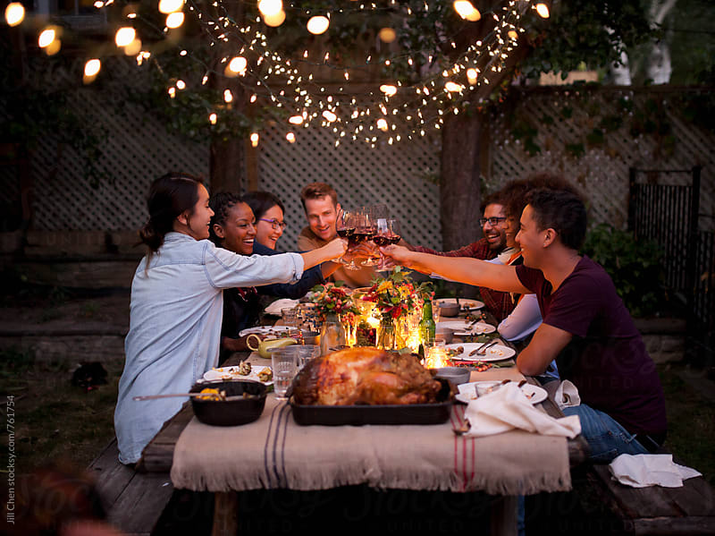 Thanksgiving Feast by Jill Chen for Stocksy United