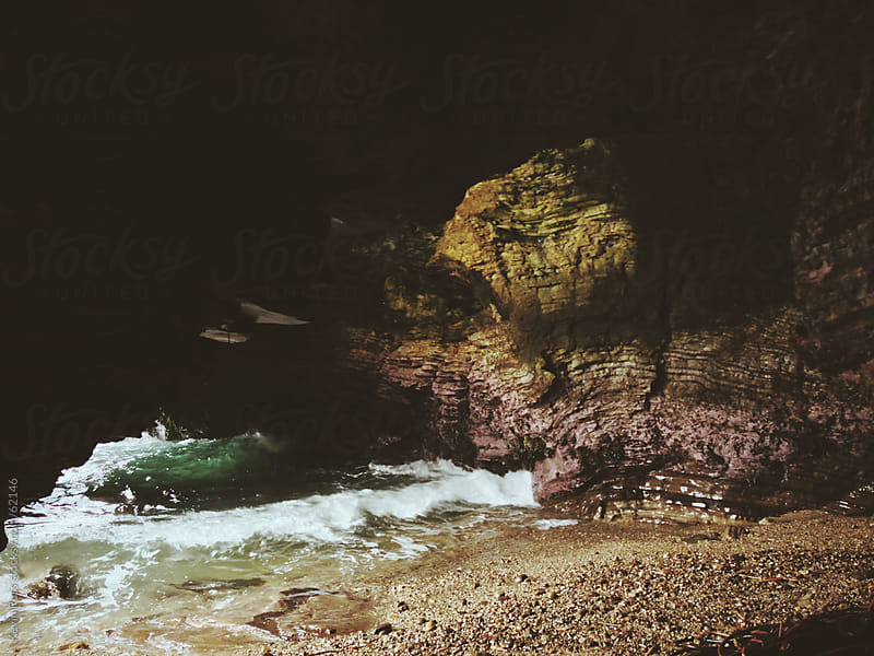 Beach Cave by Kevin Russ for Stocksy United