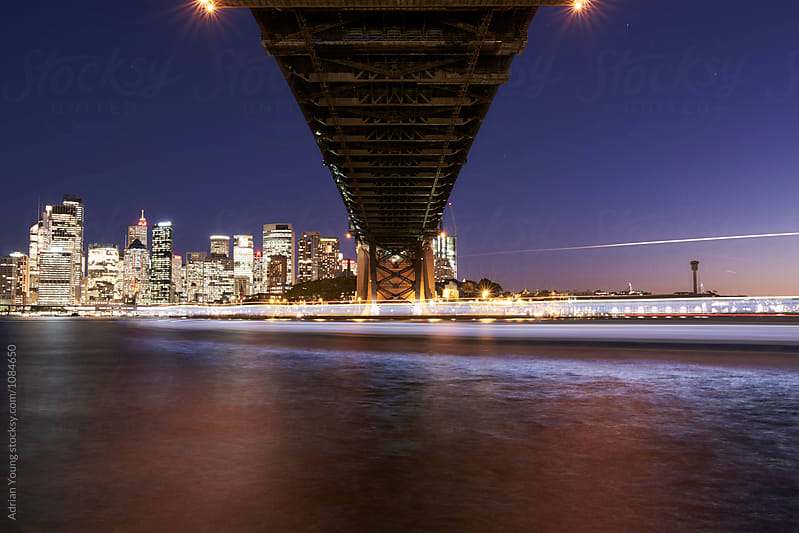 Under The Sydney Harbour Bridge by Adrian P Young for Stocksy United