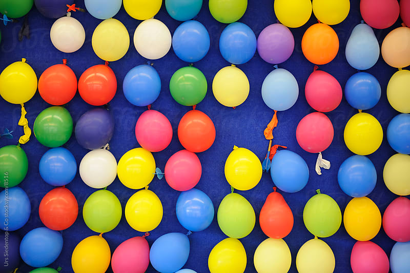Fair Balloon Burst by Urs Siedentop & Co for Stocksy United