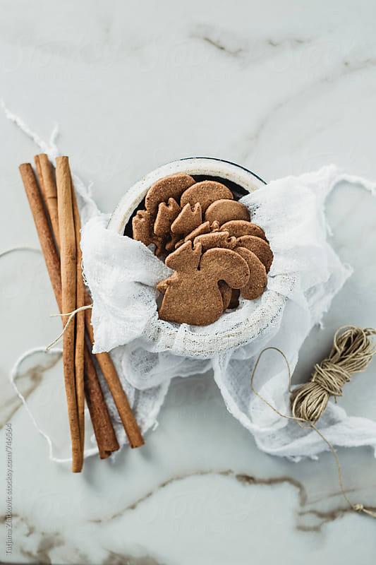 Gingerbread cookies by Tatjana Zlatkovic for Stocksy United
