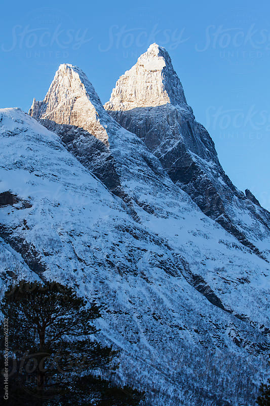 Otertinden, Lyngen Alps, Troms region, Norway, Scandinavia by Gavin Hellier for Stocksy United