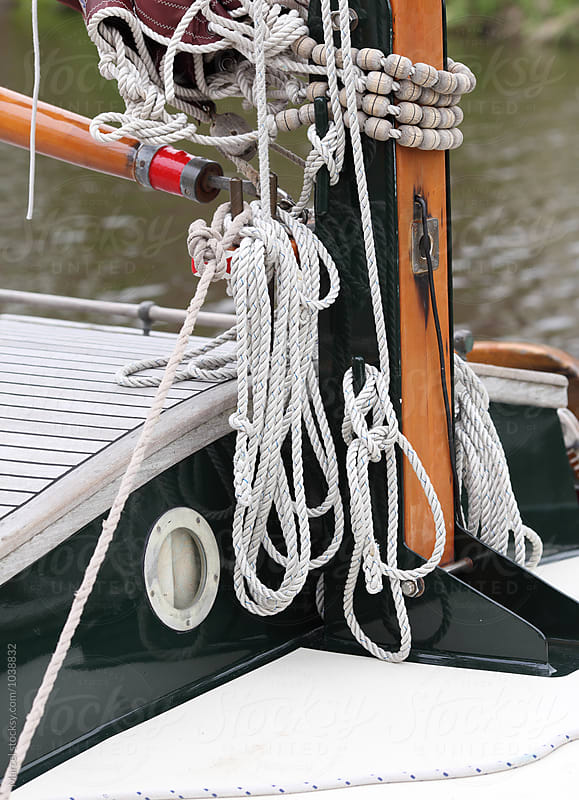 Beautiful old sailing boat by Marcel for Stocksy United