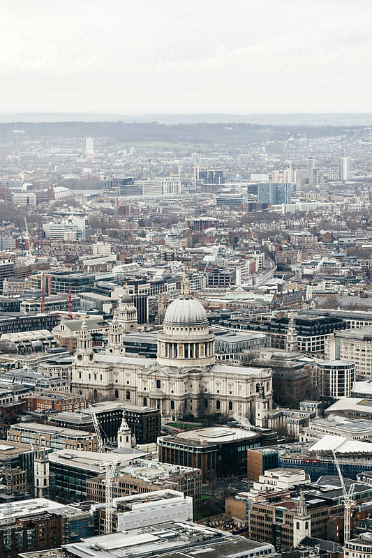 St Pauls from High by Agencia for Stocksy United