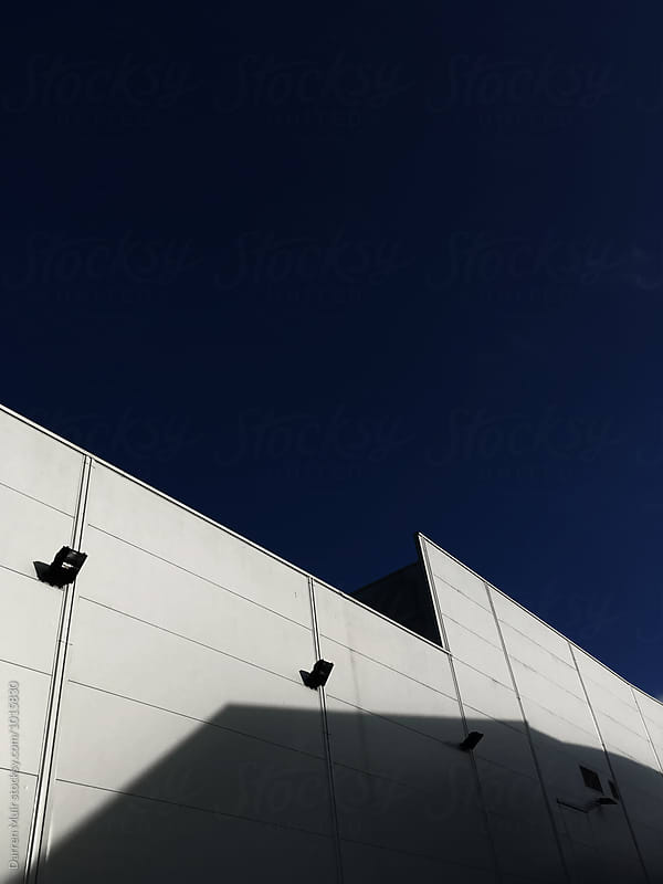 Side of a hangar. by Darren Muir for Stocksy United