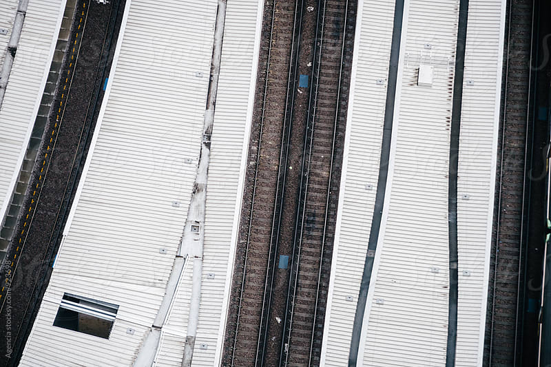 Train Tracks Abstract by Agencia for Stocksy United