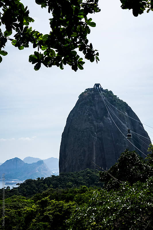 Famous Sugarloaf Mountain in Rio de Janeiro, Brazil by Mauro Grigollo for Stocksy United