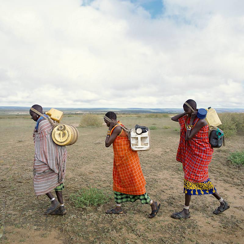 Portrait of tribal people. Kenya. by Hugh Sitton for Stocksy United
