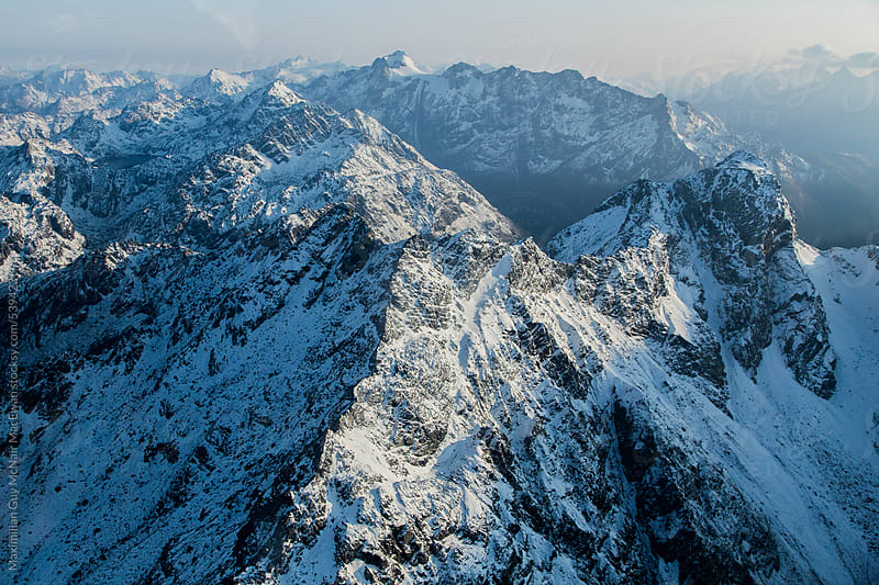 Southern Alps of New Zealand by Maximilian Guy McNair MacEwan for Stocksy United
