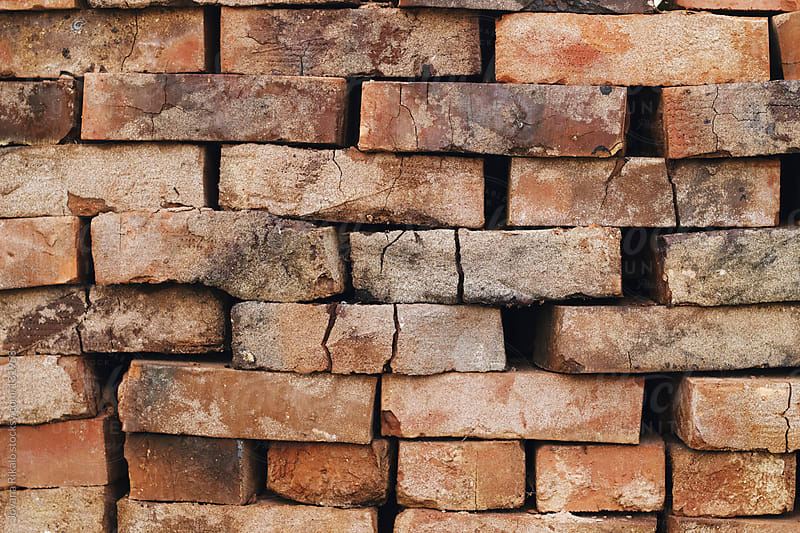 Old brick wall by Jovana Rikalo for Stocksy United
