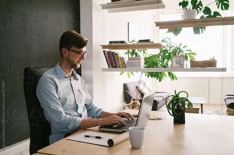 Web Designer by Bruce Meissner for Stocksy United