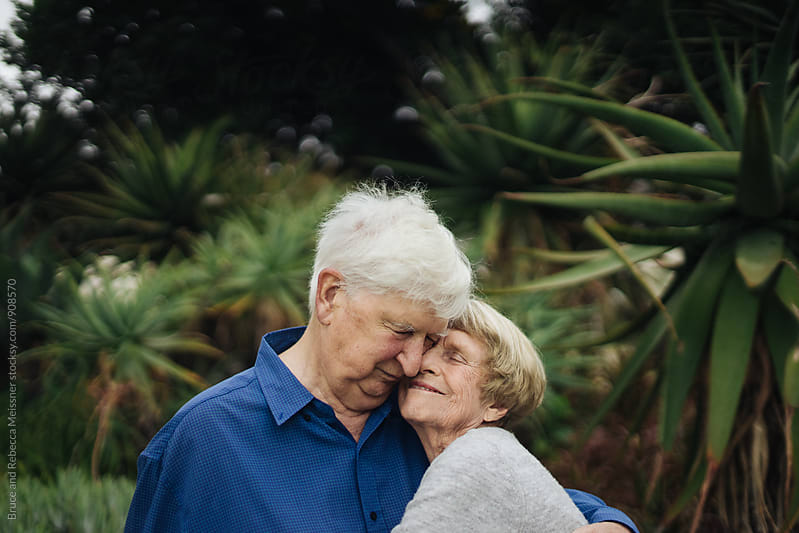 Mature Couple in Love by Bruce and Rebecca Meissner for Stocksy United