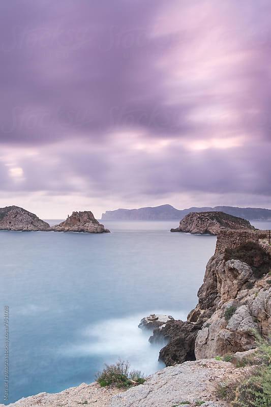 Coast of the island of Majorca at sunset by Marilar Irastorza for Stocksy United