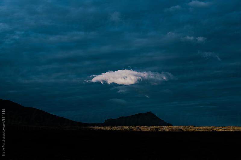 Lone Cloud.  by Nirav Patel for Stocksy United