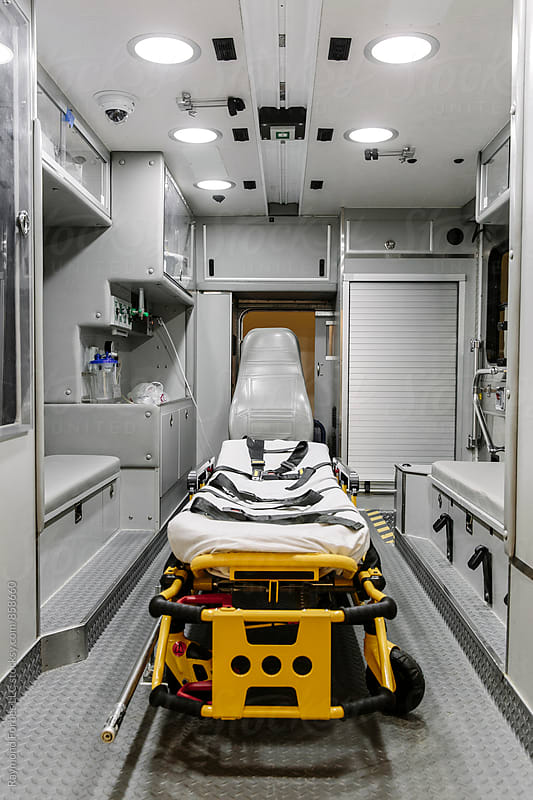 Ambulance Interior by Raymond Forbes LLC for Stocksy United