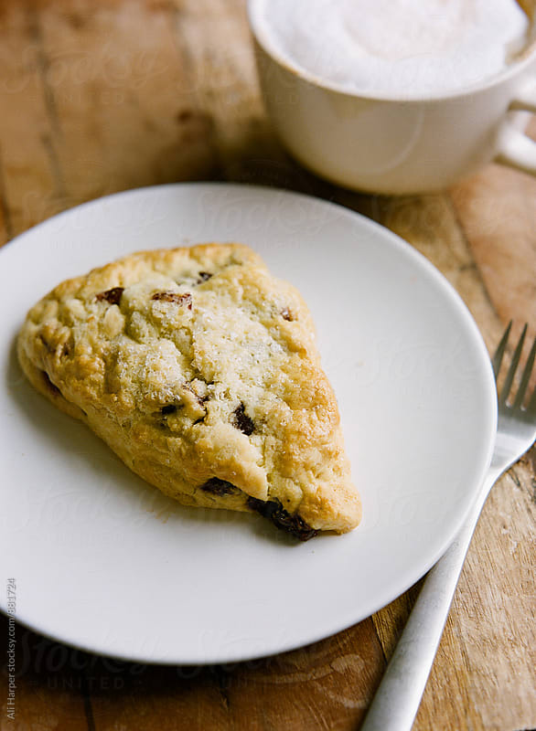 Berry scone by Ali Harper for Stocksy United