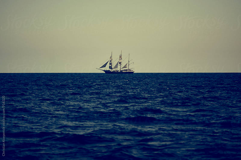 Clipper ship  by Christian Koepenick for Stocksy United
