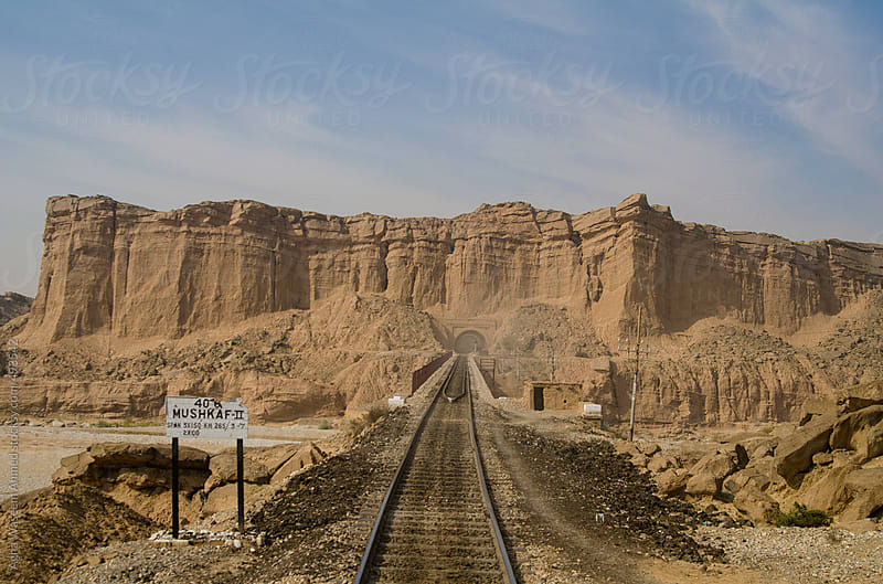A Railway Line passing through a Tunnel by Agha Waseem Ahmed for Stocksy United