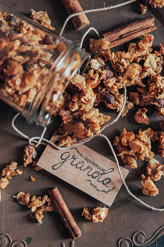 Homemade granola by Nataša Mandić for Stocksy United