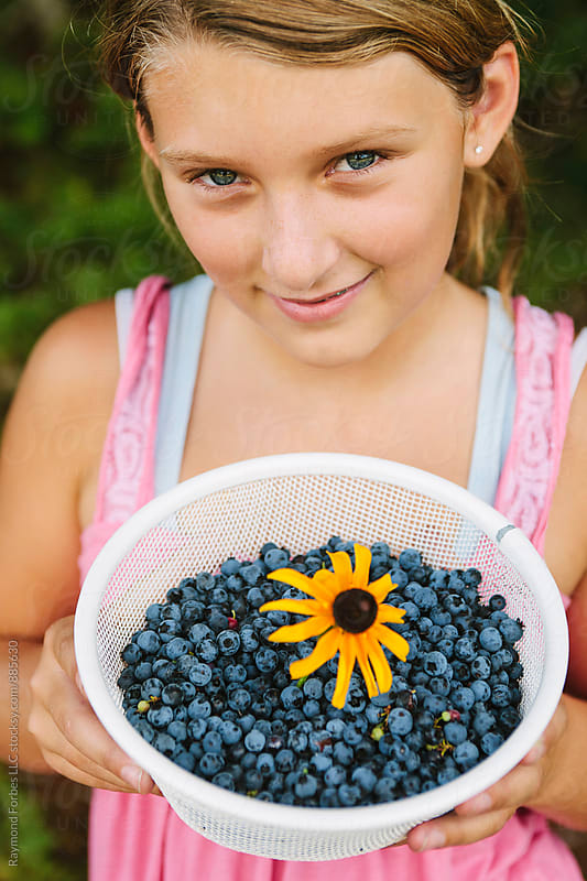 Got Blueberries? by Raymond Forbes LLC for Stocksy United