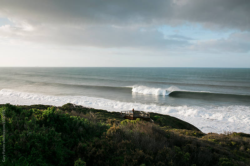 The Perfect Wave by Gary Parker for Stocksy United