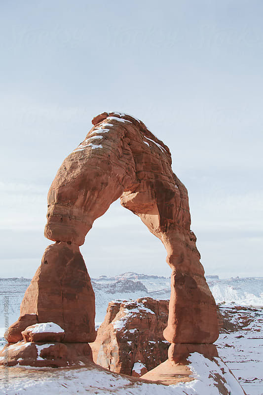 Arches National Park by Christian Gideon for Stocksy United
