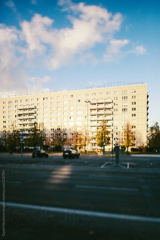 Plattenbau Building in Berlin by Good Vibrations Images for Stocksy United