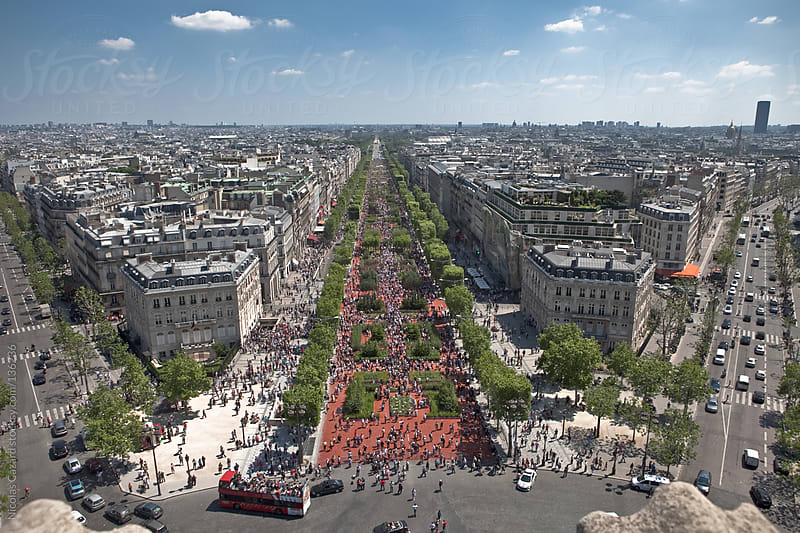 Champs Elysées - Paris by Nicolas Cazard for Stocksy United