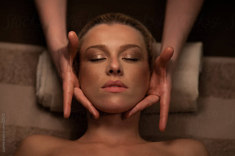 Face Massage by Lumina for Stocksy United