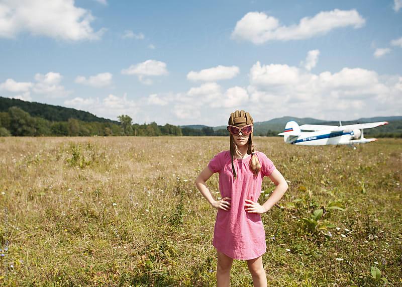 Biplane by Svetlana Shchemeleva for Stocksy United