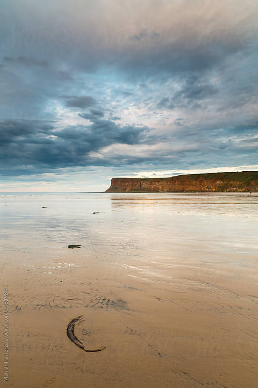 North Yorkshire Coast at Sunset by Marilar Irastorza for Stocksy United