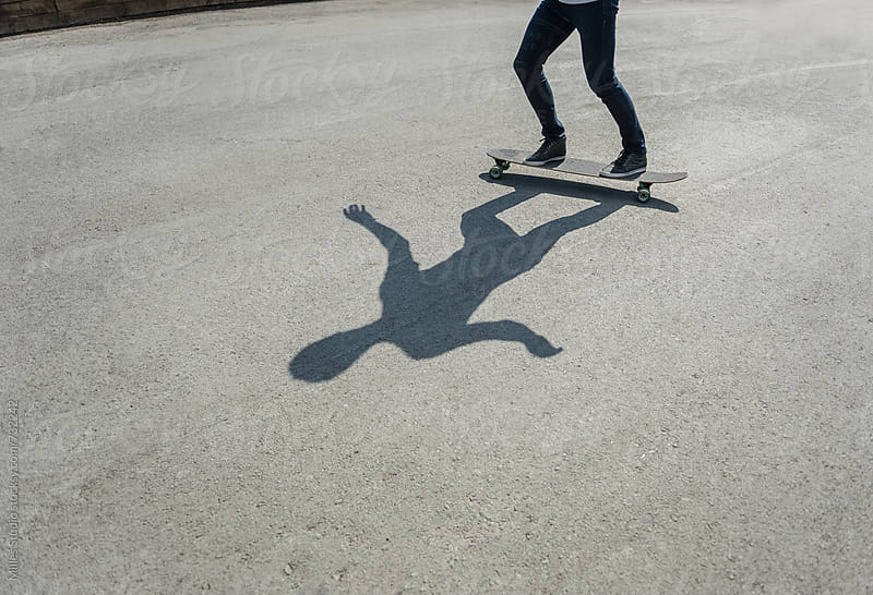 Man skating by Milles Studio for Stocksy United