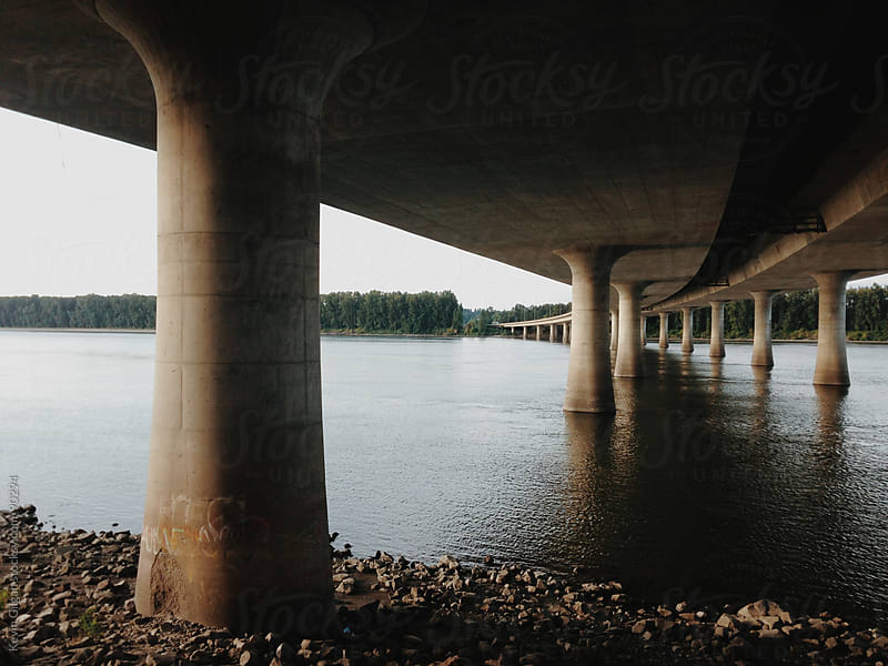 Bridge Over Wather by Kevin Gilgan for Stocksy United