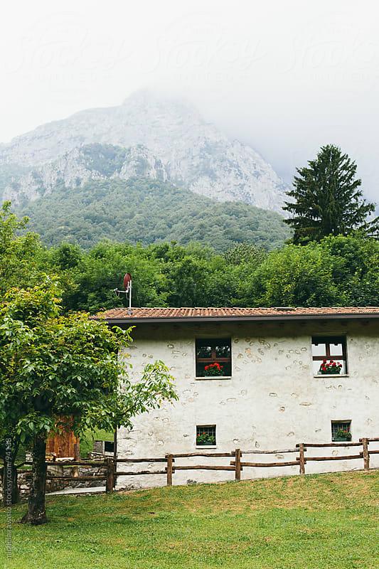 Mountain cabin by michela ravasio for Stocksy United