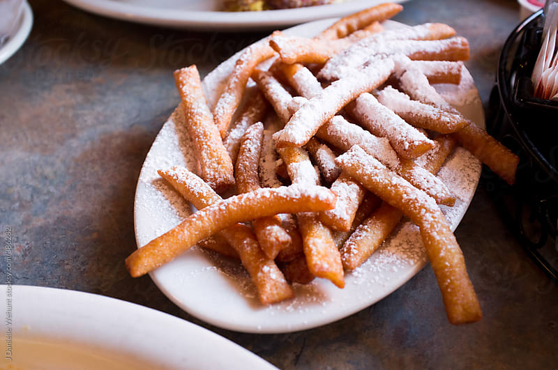 Beignets Fries by J Danielle Wehunt for Stocksy United