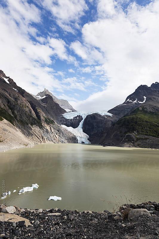 Glacier Los Perros in Torres Del Paine in Chilean Patagonia by Jovana Milanko for Stocksy United