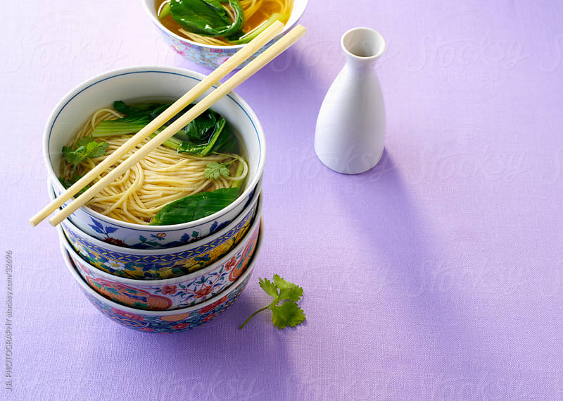 Noodle Soup by J.R. PHOTOGRAPHY for Stocksy United