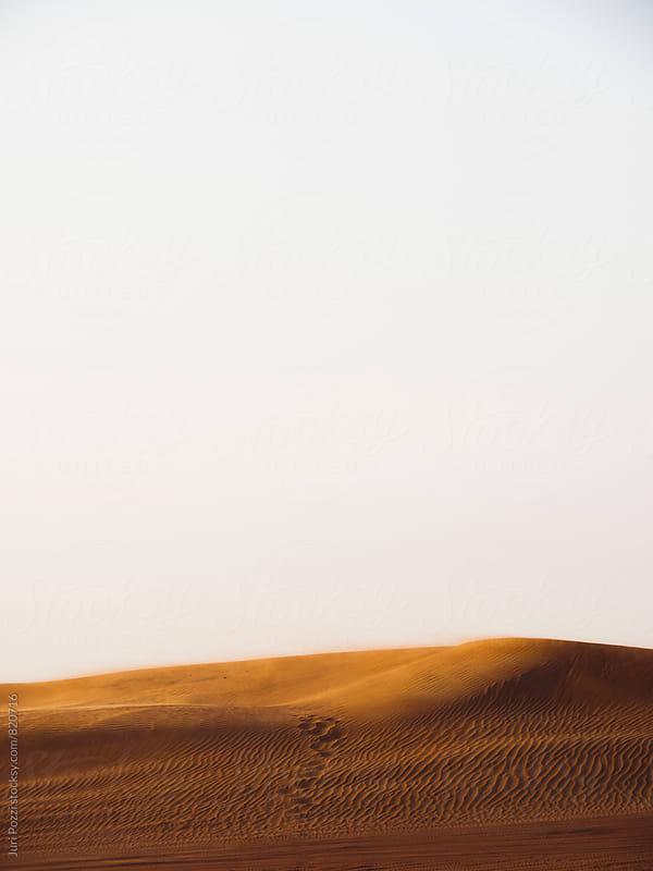 dunes at sunset by Juri Pozzi for Stocksy United