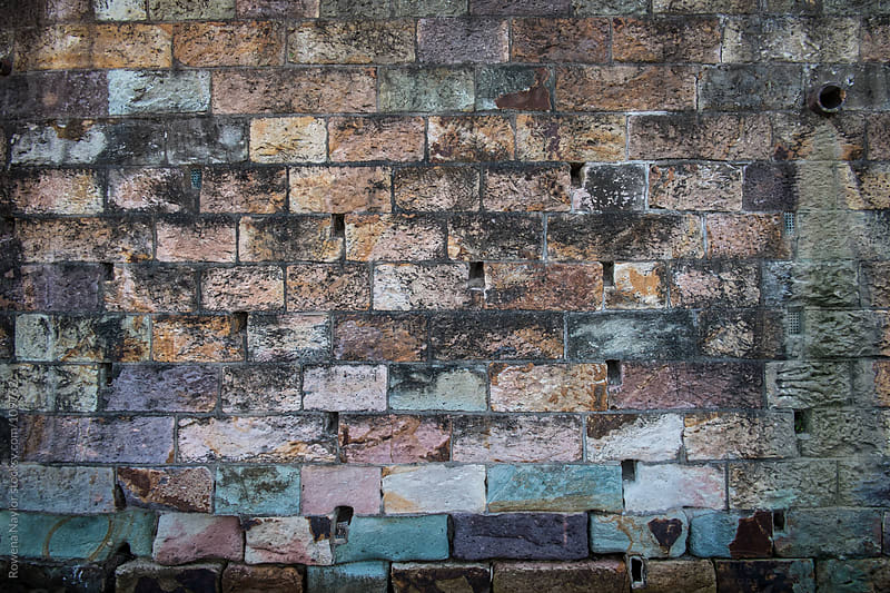 Old Brick Wall at River Wharf by Rowena Naylor for Stocksy United