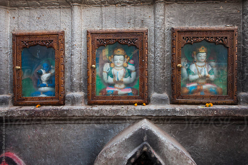 Incarnations of Buddha. by Shikhar Bhattarai for Stocksy United
