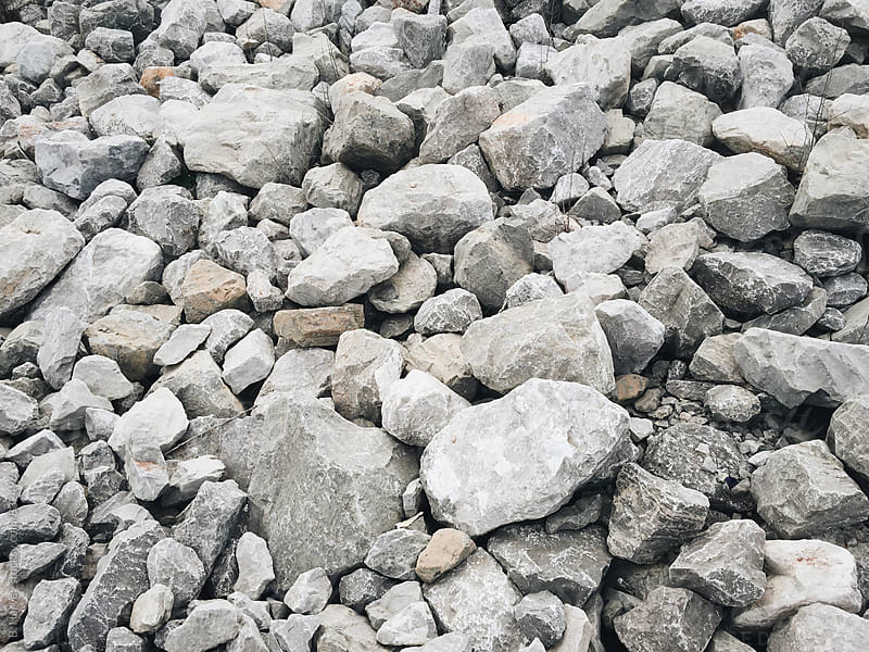 Minimalist Rocks by B. Harvey for Stocksy United