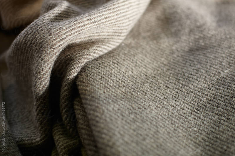 Close up of a craft wool cloth by Miquel Llonch for Stocksy United