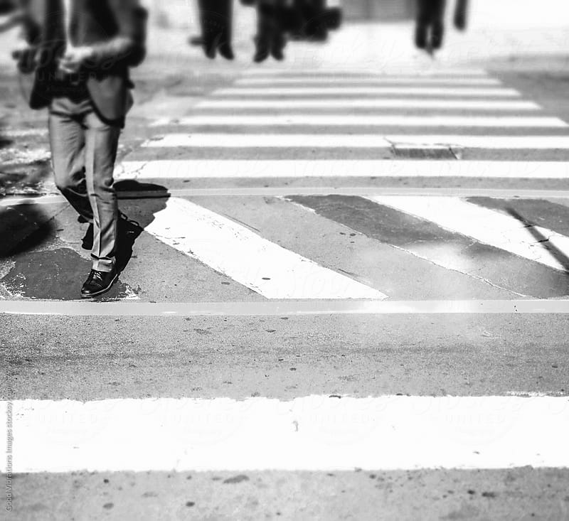 Crosswalk by Good Vibrations Images for Stocksy United