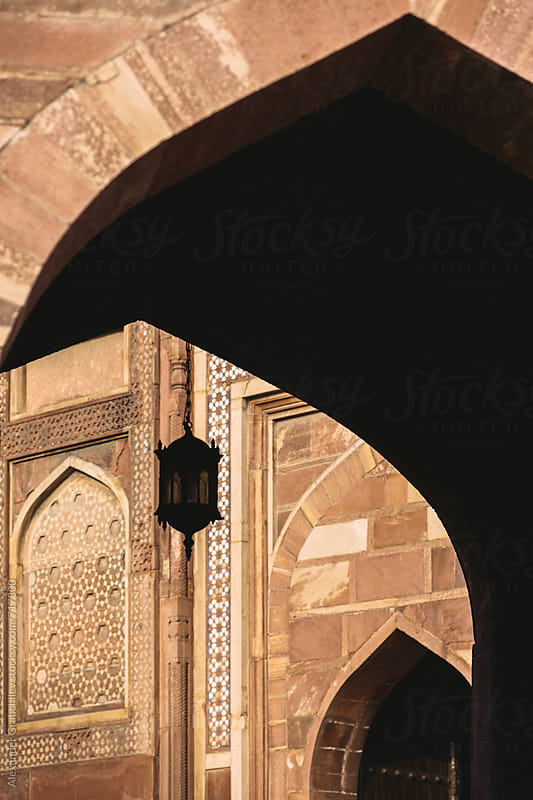 Gate in Red fort of Agra, India by Alexander Grabchilev for Stocksy United