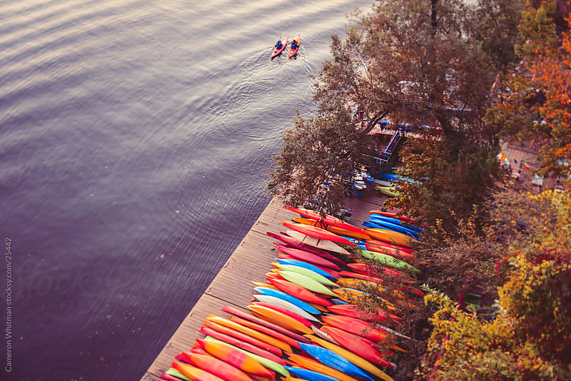 Kayaking On The Potomac River by Cameron Whitman for Stocksy United