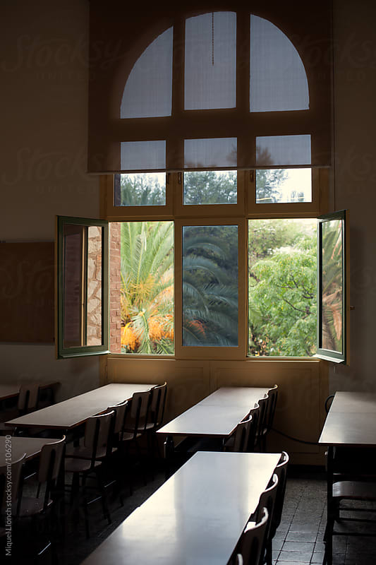 Old classic school classroom by Miquel Llonch for Stocksy United