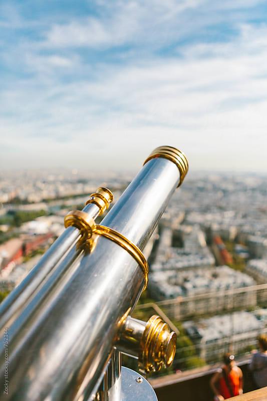 Parisian Sightseeing Telescope by Zocky for Stocksy United